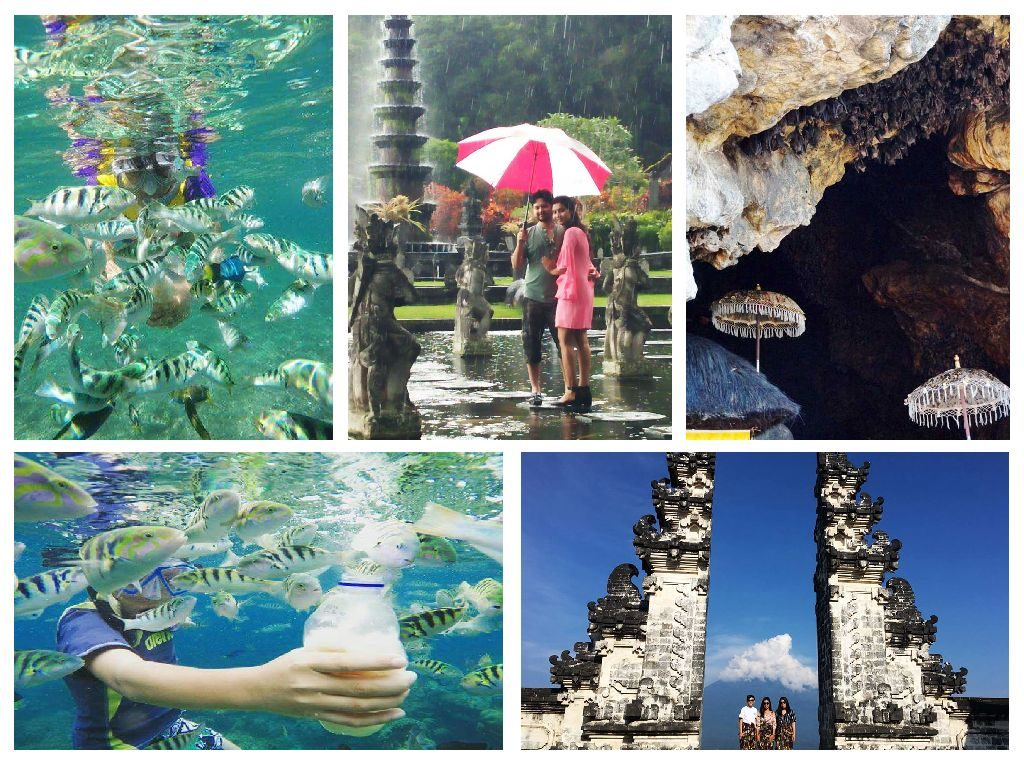 Snorkling at Amuk Bay Combination Heaven Gate, Tirta Gangga and Bat Temple